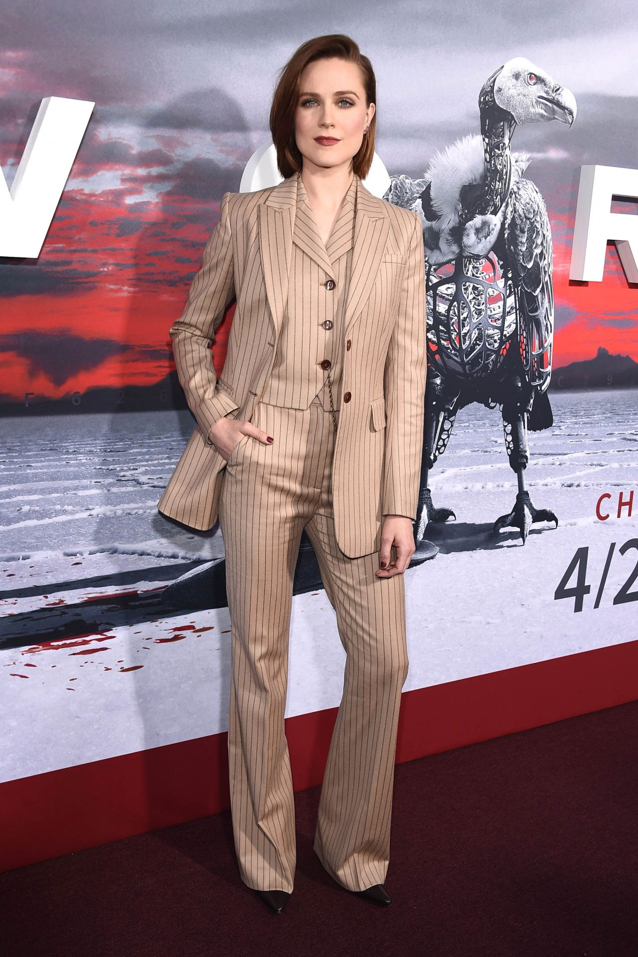 Evan Rachel Wood Westworld Season 2 Premiere In La