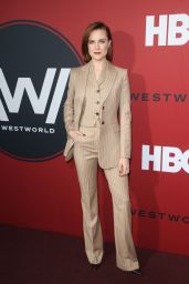 "Evan Rachel Wood – ""Westworld"" Season 2 Premiere in LA"