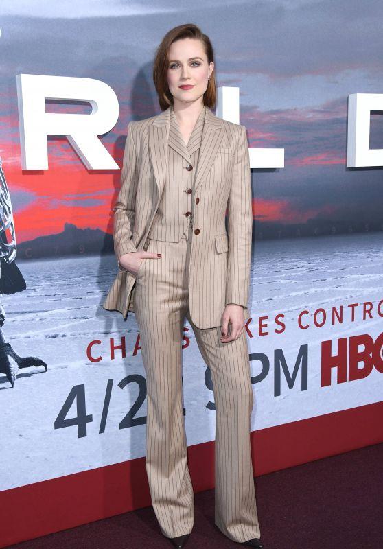 "Evan Rachel Wood – ""Westworld"" Season 2 Premiere in LA"
