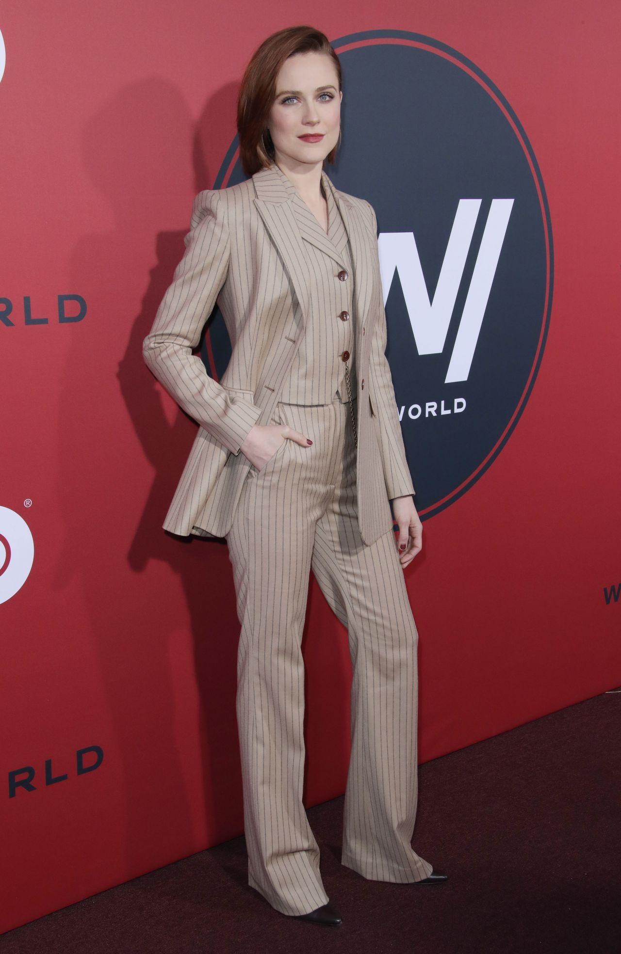 Evan Rachel Wood Westworld Season 2 Premiere In La