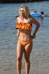 Frankie Essex in Bikini on the Beach in Turkey 04/22/2018
