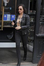 Georgia May Foote at Hair Salon in London 04/13/2018