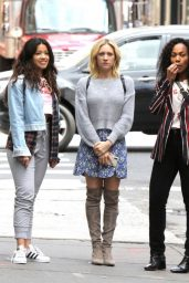 "Gina Rodriguez, Rosario Dawson, Brittany Snow and Dewanda Wise - ""Someone Great"" Set in New York 04/18/2018"