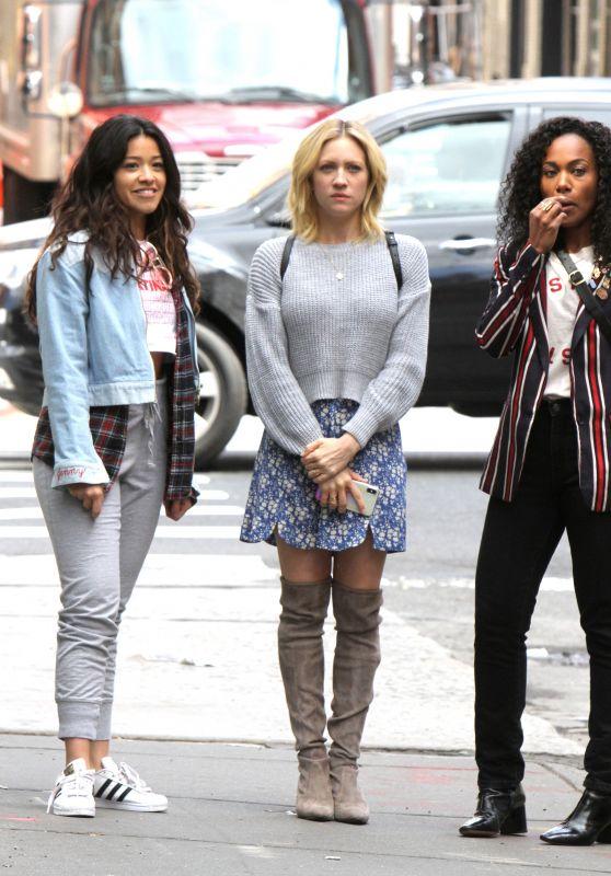 "Gina Rodriguez, Rosario Dawson, Brittany Snow and Dewanda Wise - ""Someone Great"" Set in New York 04/18/2018"