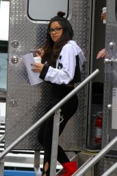 "Gina Rodriguez - ""Someone Great"" Movie Set in Soho 04/16/2018"