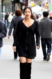 """Gina Rodriguez - """"Someone Great"""" Set in New York 04/13/2018"""
