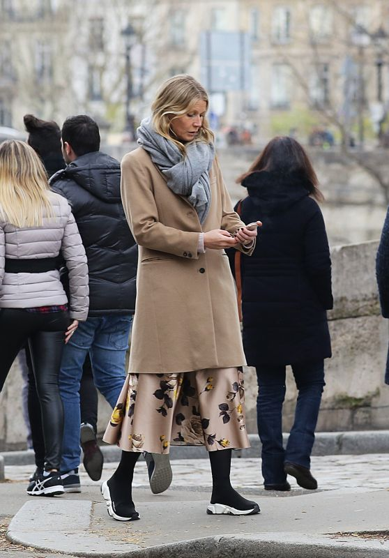 Gwyneth Paltrow and Chris Martin - Easter Weekend in Paris 04/01/2018
