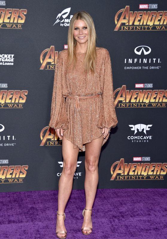 """Gwyneth Paltrow – """"Avengers: Infinity War"""" Premiere in LA"""