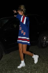 Hailey Baldwin - Coachella Festival in Palm Springs 04/14/2018