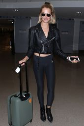 Hailey Clauson at LAX Airport 04/19/2018
