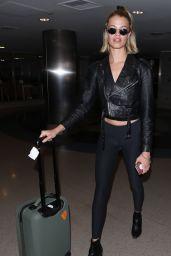 Hailey Clauson at LAX Airport 04/19/2018