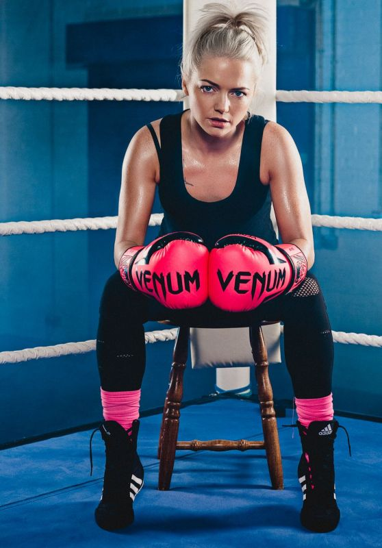 Hannah Spearritt - Sport Relief Celebrity Boxing Promos 2018