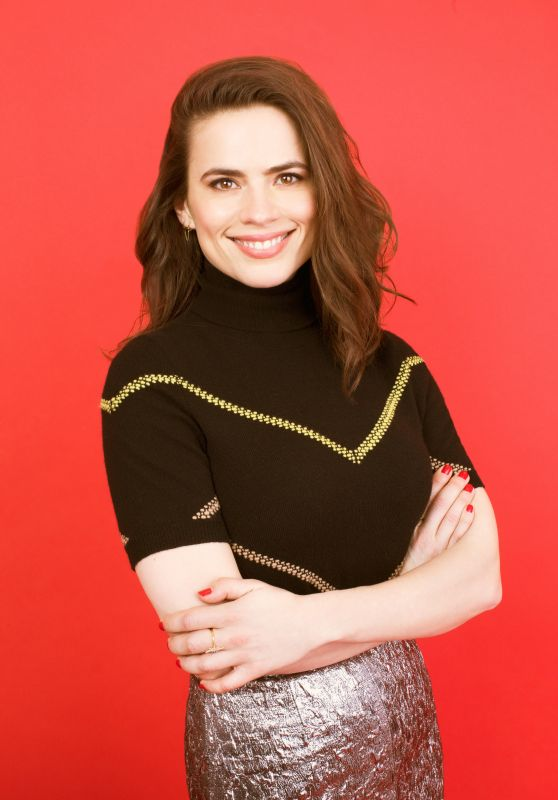 Hayley Atwell - Photoshoot for Bustle Magazine April 2018