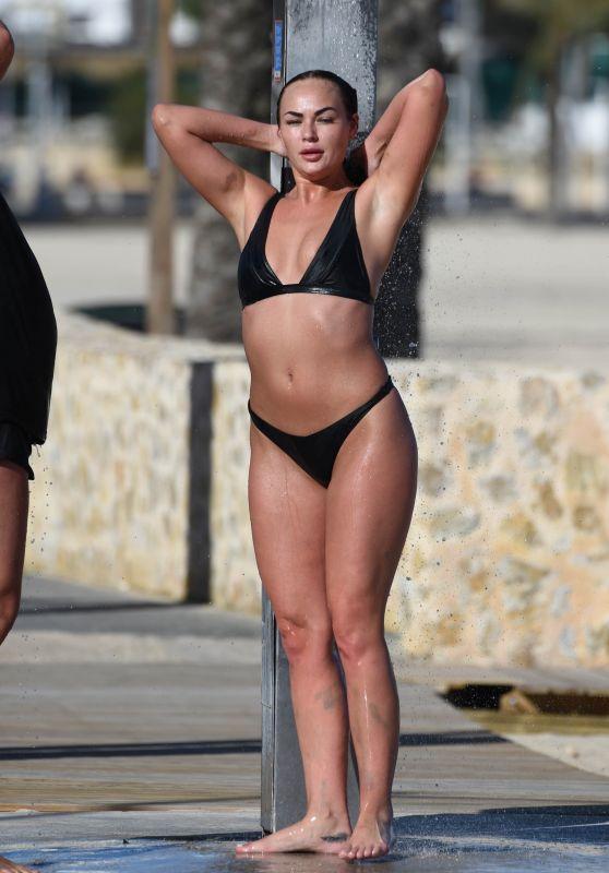 Hayley Fanshaw in Bikini - Enjoying the Sunshine in Magaluf 04/16/2018