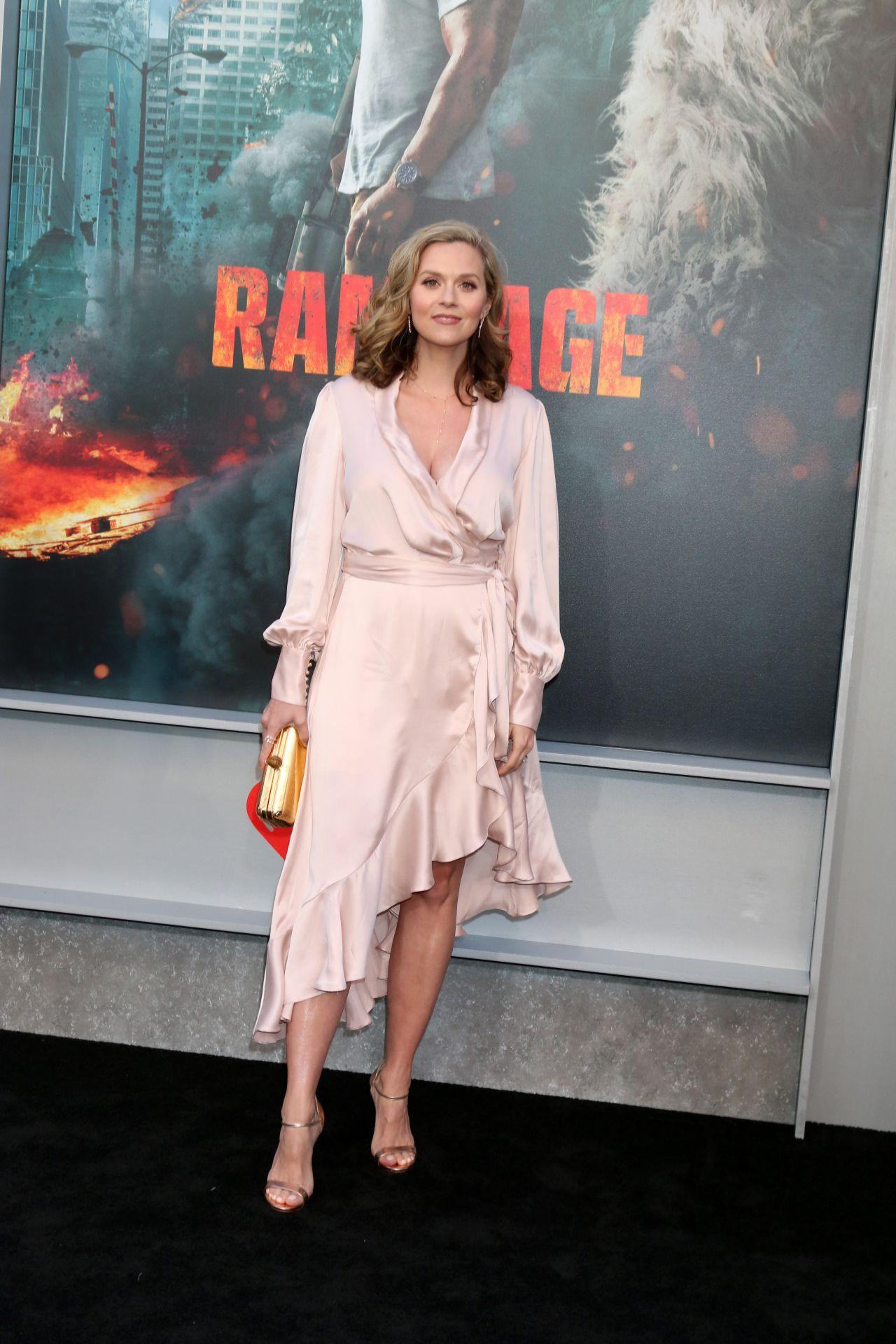 Hilarie Burton Rampage Premiere In La