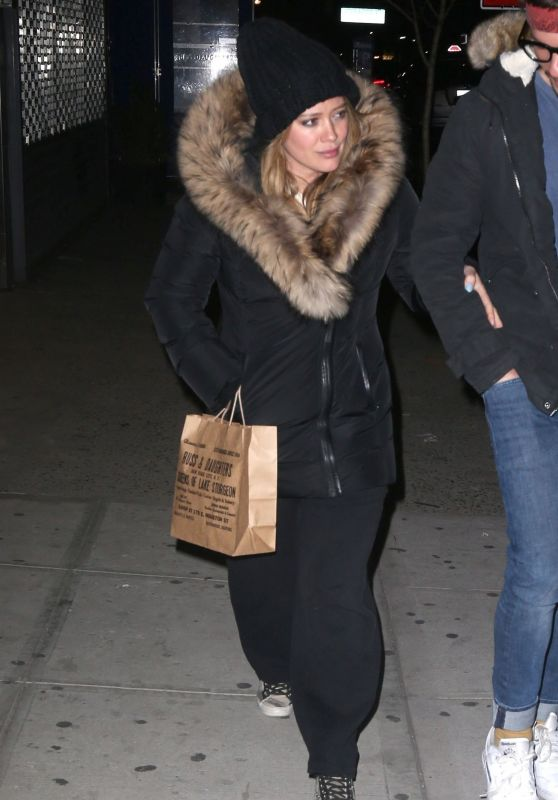 Hilary Duff - Russ & Daughters Cafe in NYC 04/10/2018