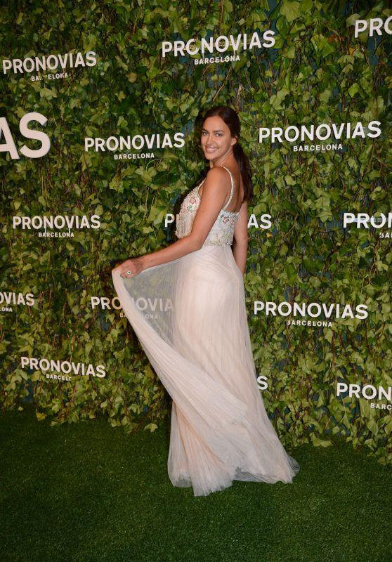 Irina Shayk - Pronovias Fashion Show in Barcelona 04/23/2018