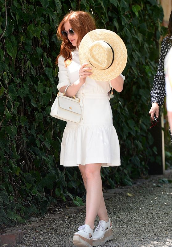 Isla Fisher - Stella McCartney H.E.A.R.T. Brunch in LA