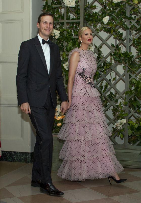 Ivanka Trump - Dinner Honoring President Emmanuel Macron in Washington, DC 04/24/2018