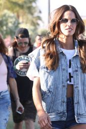 Izabel Goulart at Coachella 2018