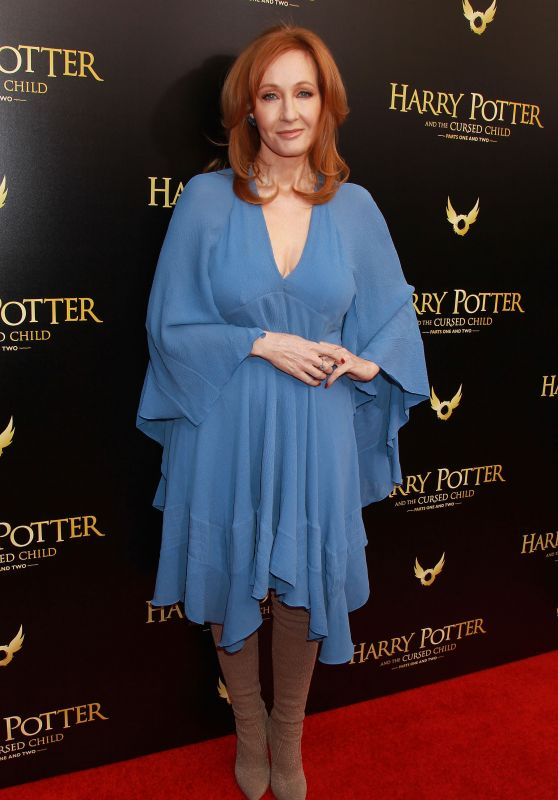 "J.K. Rowling - ""Harry Potter And The Cursed Child"" Broadway Opening in New York"
