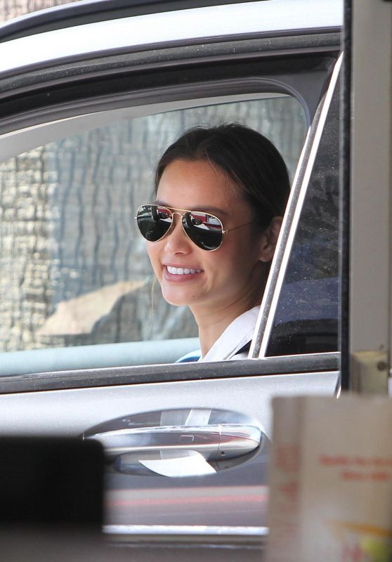 """Jamie Chung - """"In N Out"""" Drive-thru in Los Angeles 03/29/2018"""