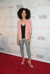Jasmin Savoy Brown – Regard Magazine Spring 2018 Cover Unveiling Party in West Hollywood