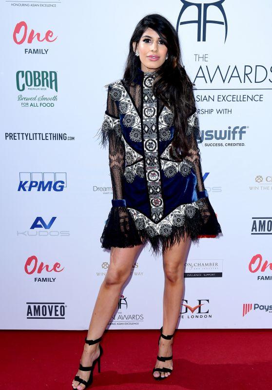 Jasmin Walia – 2018 Asian Awards in London