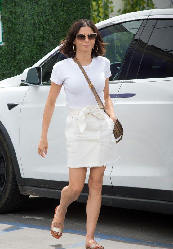 Jenna Dewan - Going to a Salon in Los Angeles 04/15/2018
