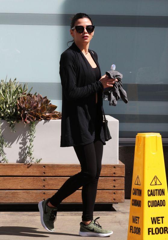 Jenna Dewan - Leaving Soul Cycle in West Hollywood 04/03/2018