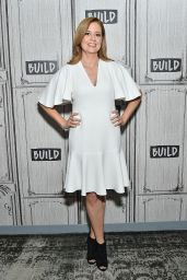 Jenna Fischer at BUILD Series in NYC, March 2018