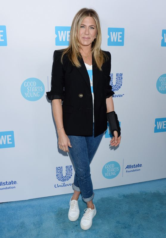 Jennifer Aniston - WE Day California 2018