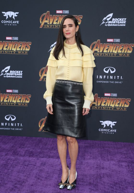 "Jennifer Connelly – ""Avengers: Infinity War"" Premiere in LA"
