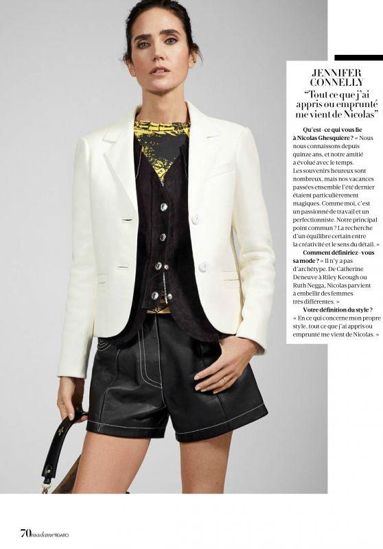 Jennifer Connelly - Madame Figaro April 2018