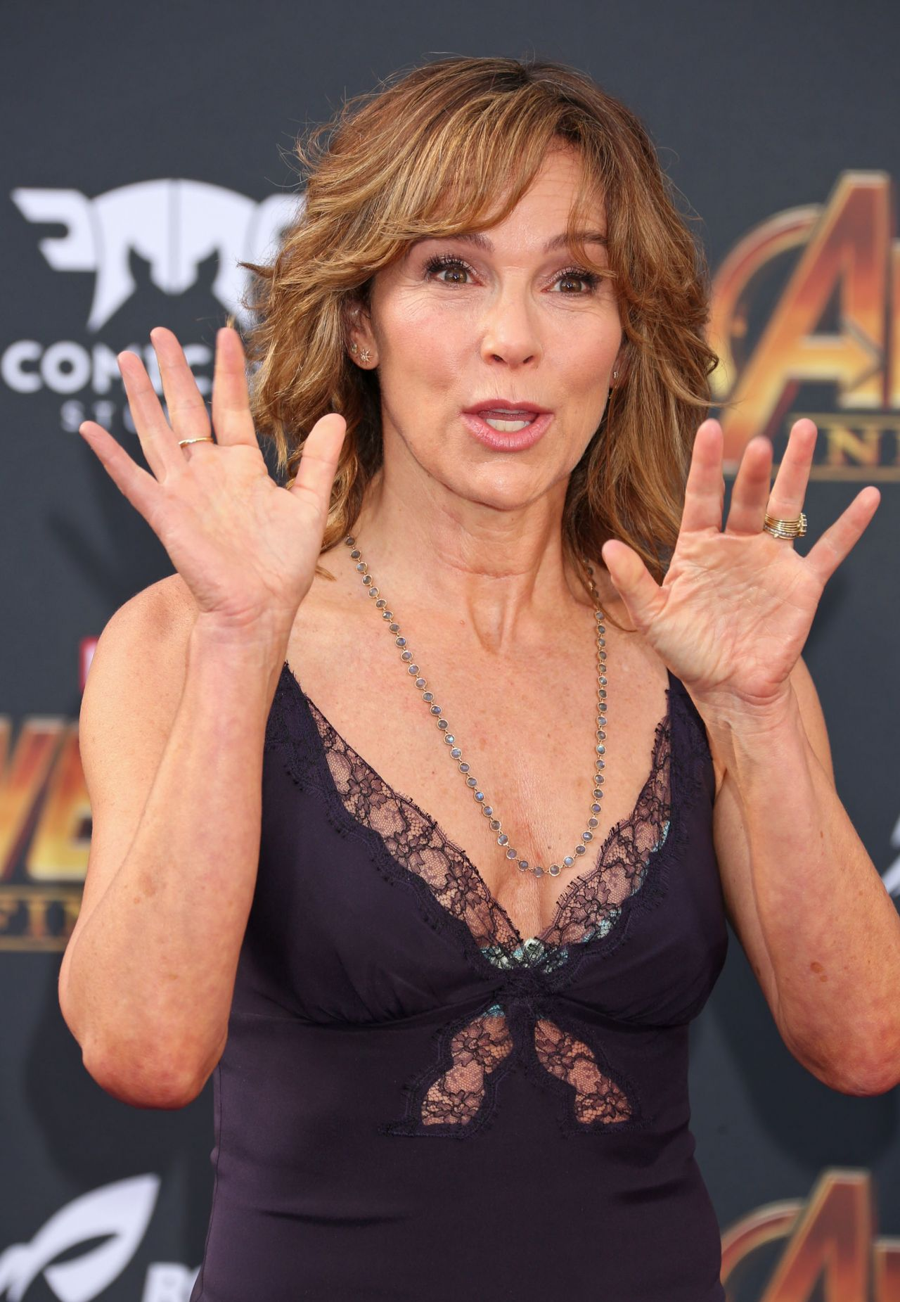"Jennifer Grey – ""Avengers: Infinity War"" Premiere in LA Jennifer Grey"