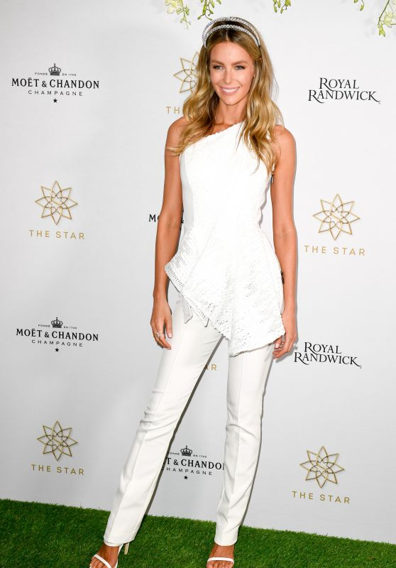 Jennifer Hawkins - The Star Doncaster Mile Luncheon in Sydney