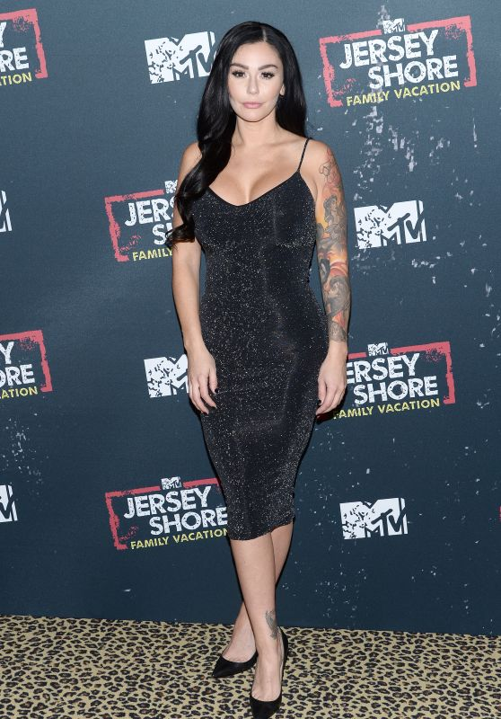 "Jennifer ""JWoww"" Farley - ""Jersey Shore Family Vacation"" TV Show Premiere in New York"