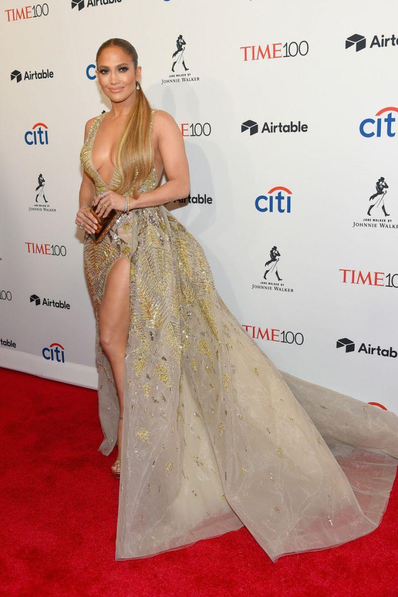 Jennifer Lopez 2018 Time 100 Gala In Nyc