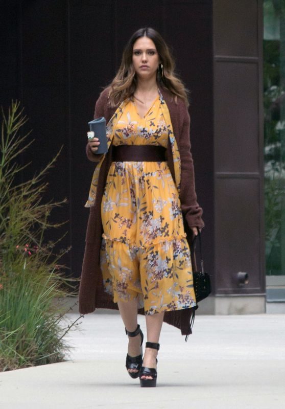 Jessica Alba Style and Fashion - Los Angeles 04/23/2018