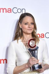 Jodie Foster – Big Screen Achievement Awards at CinemaCon 2018 in Las Vegas