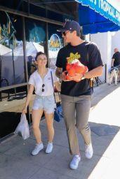 Joey King With Her Boyfriend Goes to the Farmers Market in LA 04/22/2018