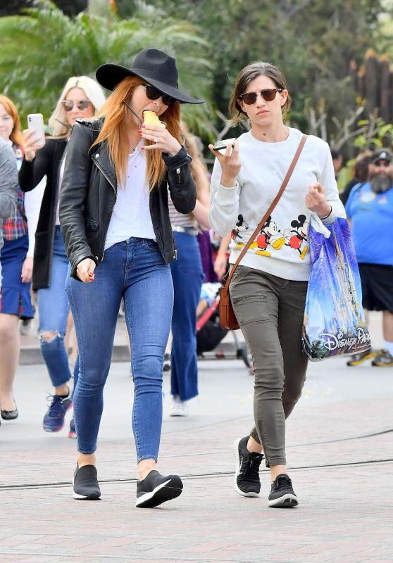 Julianne Hough in Tight Jeans - Disneyland 04/02/2018