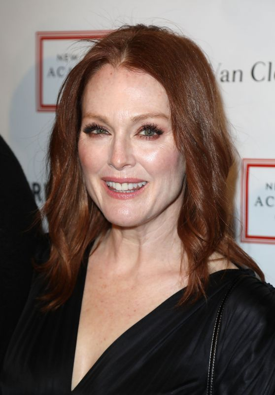 Julianne Moore - 2018 TriBeCa Ball at New York Academy of Art in NYC