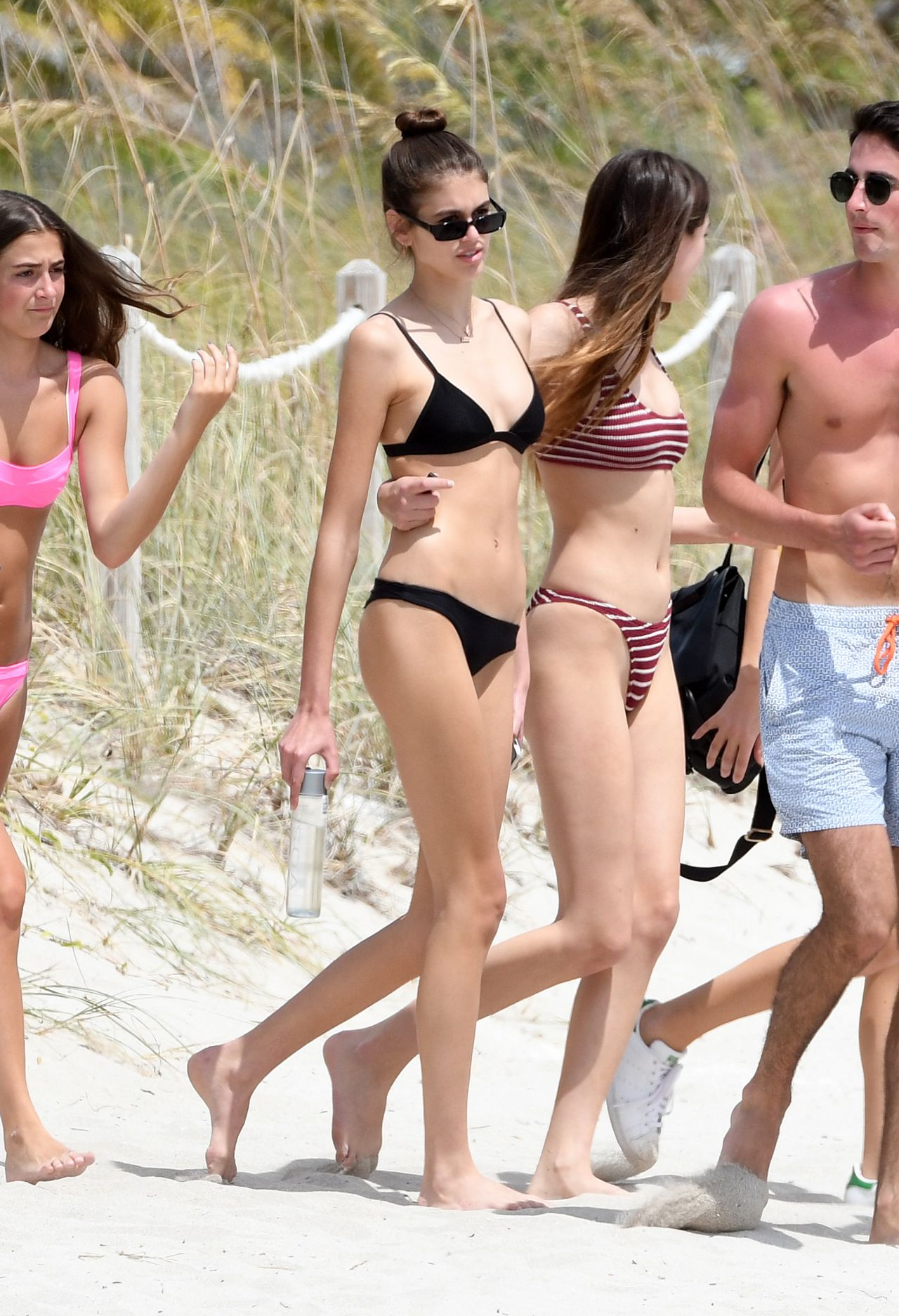Kaia Gerber In Bikini Spring Break In Miami 03 31 2018