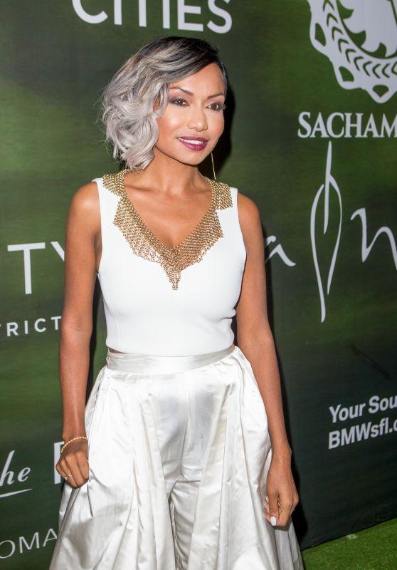 Kalista Zackhariyas - Sachamama Green Gala Awards in Miami