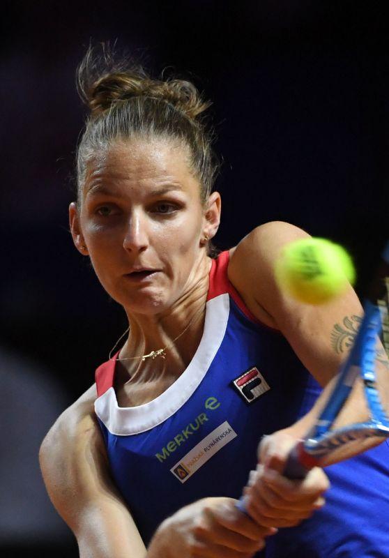 Karolina Pliskova – Federation Cup Women's Semi-Final in Stuttgart 04/22/2018