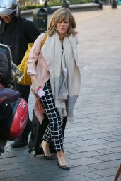 Kate Garraway - Arriving at Global Radio Studios in London 04/19/2018