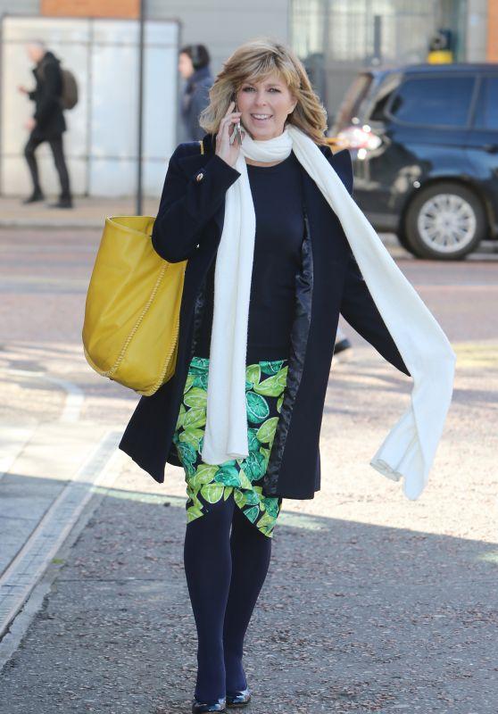 Kate Garraway – Outside ITV Studios in London 04/05/2018