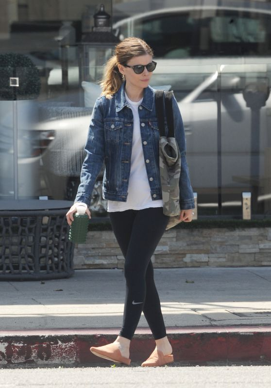 Kate Mara - Heading to a Gym in Los Angeles 04/01/2018