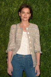 Katie Holmes – CHANEL Tribeca 2018 Artists Dinner in NYC
